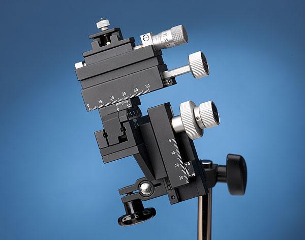 MM-33) Standard Manual Control Micromanipulators | Warner Instruments